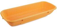 Brotform Gärkorb lang 1 kg orange
